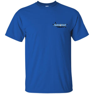RoxtarTrux 2-sided logo G200B Gildan Youth Ultra Cotton T-Shirt