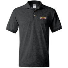 Load image into Gallery viewer, Scorpion embroidered logo G880 Gildan Jersey Polo Shirt