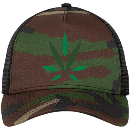Village Vine embroidered logo NE205 Snapback Trucker Cap