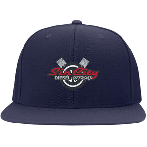 Sin City embroidered STC19 Flat Bill High-Profile Snapback Hat