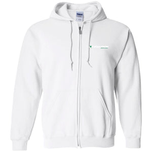 Revolution embroidered G186 Gildan Zip Up Hooded Sweatshirt