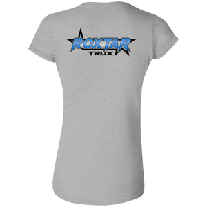 Roxtar Trux 2-sided print G640L Gildan Softstyle Ladies T-Shirt