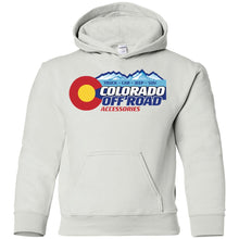 Load image into Gallery viewer, Colorado Off Road G185B Gildan Youth Pullover Hoodie