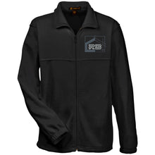Load image into Gallery viewer, Rullo embroidered logo M990 Harriton Fleece Full-Zip