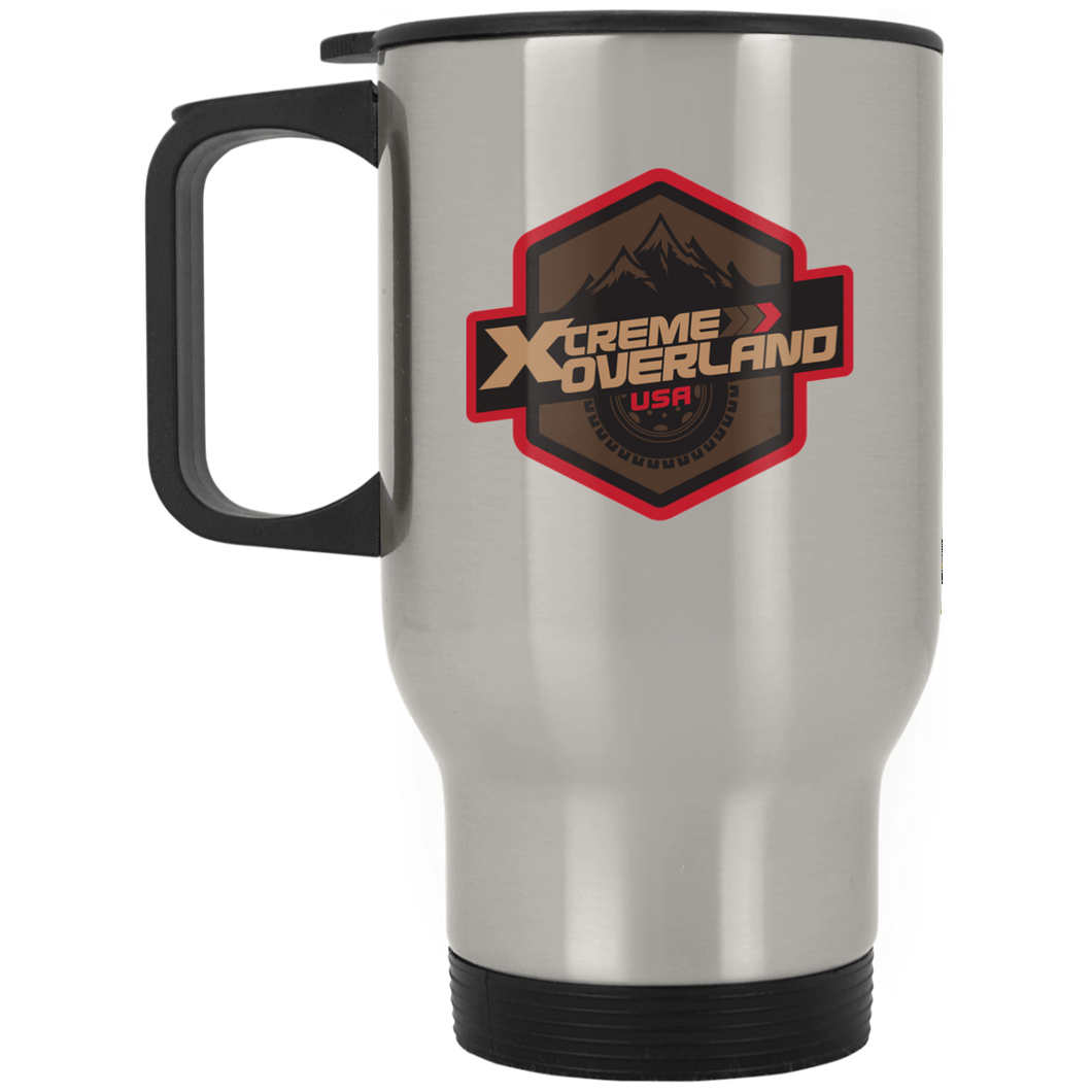 Xtreme Overland XP8400S Silver Stainless Travel Mug