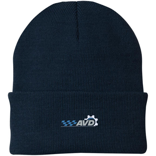 AVD embroidered logo CP90 Port Authority Knit Cap