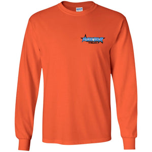 RoxtarTrux 2-sided logo G240 Gildan LS Ultra Cotton T-Shirt