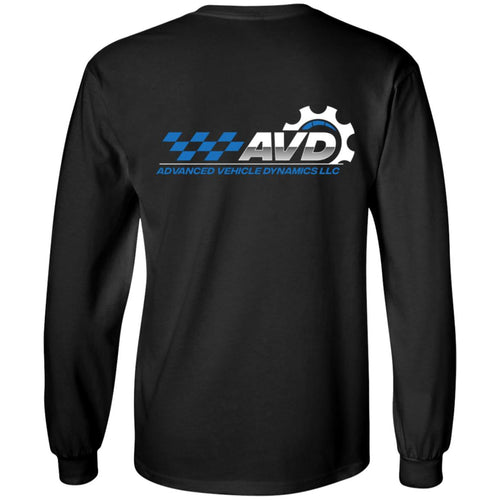 AVD 2-sided print G240 Gildan LS Ultra Cotton T-Shirt
