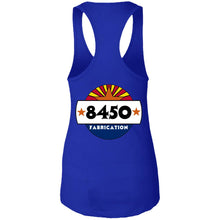 Load image into Gallery viewer, 8450 Fab back logo only NL1533 Ladies Ideal Racerback Tank