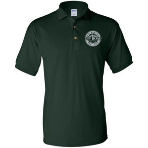 Rio Rancho Off Road embroidered logo G880 Gildan Jersey Polo Shirt
