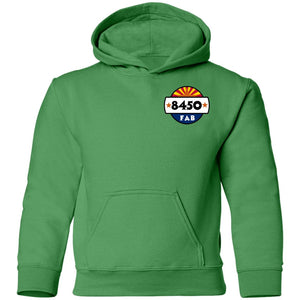 8450 Fabrication 2-sided print G185B Gildan Youth Pullover Hoodie