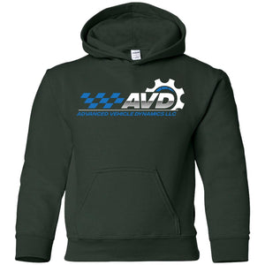 Advanced Vehicle Dynamics G185B Gildan Youth Pullover Hoodie