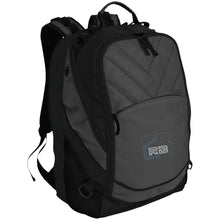 Load image into Gallery viewer, Rullo embroidered logo BG100 Port Authority Laptop Computer Backpack