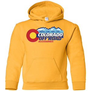 Colorado Off Road G185B Gildan Youth Pullover Hoodie