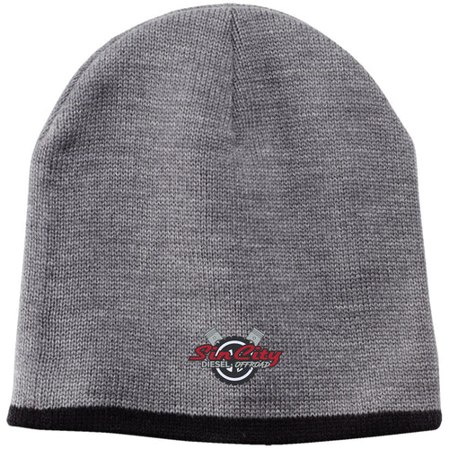 Sin City embroidered CP91 100% Acrylic Beanie