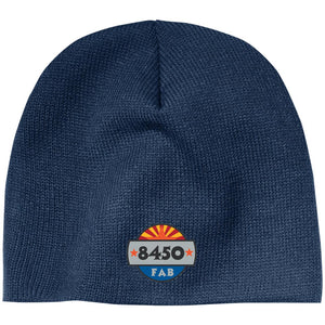 8450 embroidered logo CP91 100% Acrylic Beanie