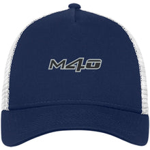Load image into Gallery viewer, M4O embroidered logo NE205 New Era® Snapback Trucker Cap