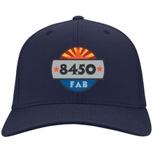 Load image into Gallery viewer, 8450 embroidered logo C813 Port Authority Flex Fit Twill Baseball Cap