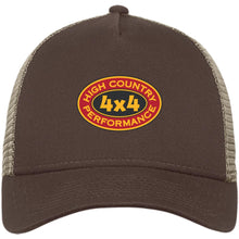 Load image into Gallery viewer, High Country original embroidered logo NE205 New Era® Snapback Trucker Cap