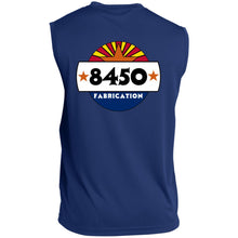 Load image into Gallery viewer, 8450 Fabrication 2-sided print ST352 Sleeveless Performance T-Shirt