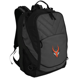 HYDRA Offroad silver embroidered logo BG100 Port Authority Laptop Computer Backpack