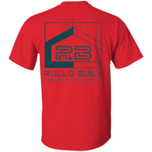 Load image into Gallery viewer, Rullo 2-sided print G500 Gildan 5.3 oz. T-Shirt