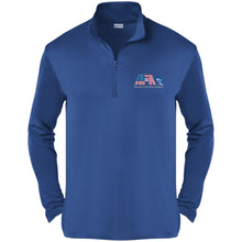Load image into Gallery viewer, AFA embroidered logo ST357 Sport-Tek Competitor 1/4-Zip Pullover