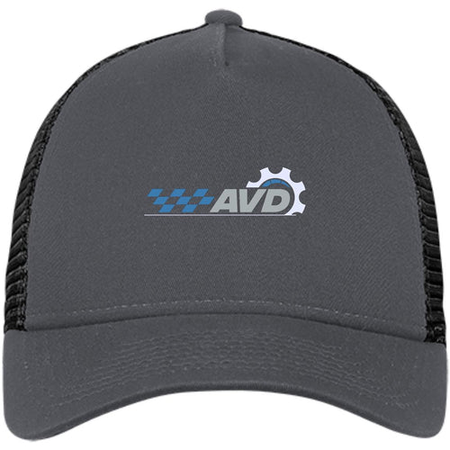 AVD embroidered logo NE205 New Era® Snapback Trucker Cap