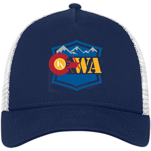 CWA embroidered logo NE205 New Era® Snapback Trucker Cap
