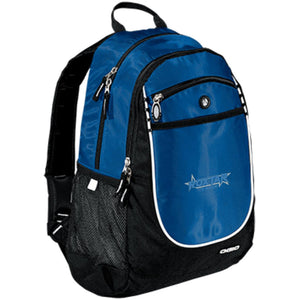 Roxtar Trux blue and silver embroidered logo 711140 OGIO Rugged Bookbag