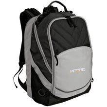 Load image into Gallery viewer, MOORE embroidered logo BG100 Port Authority Laptop Computer Backpack