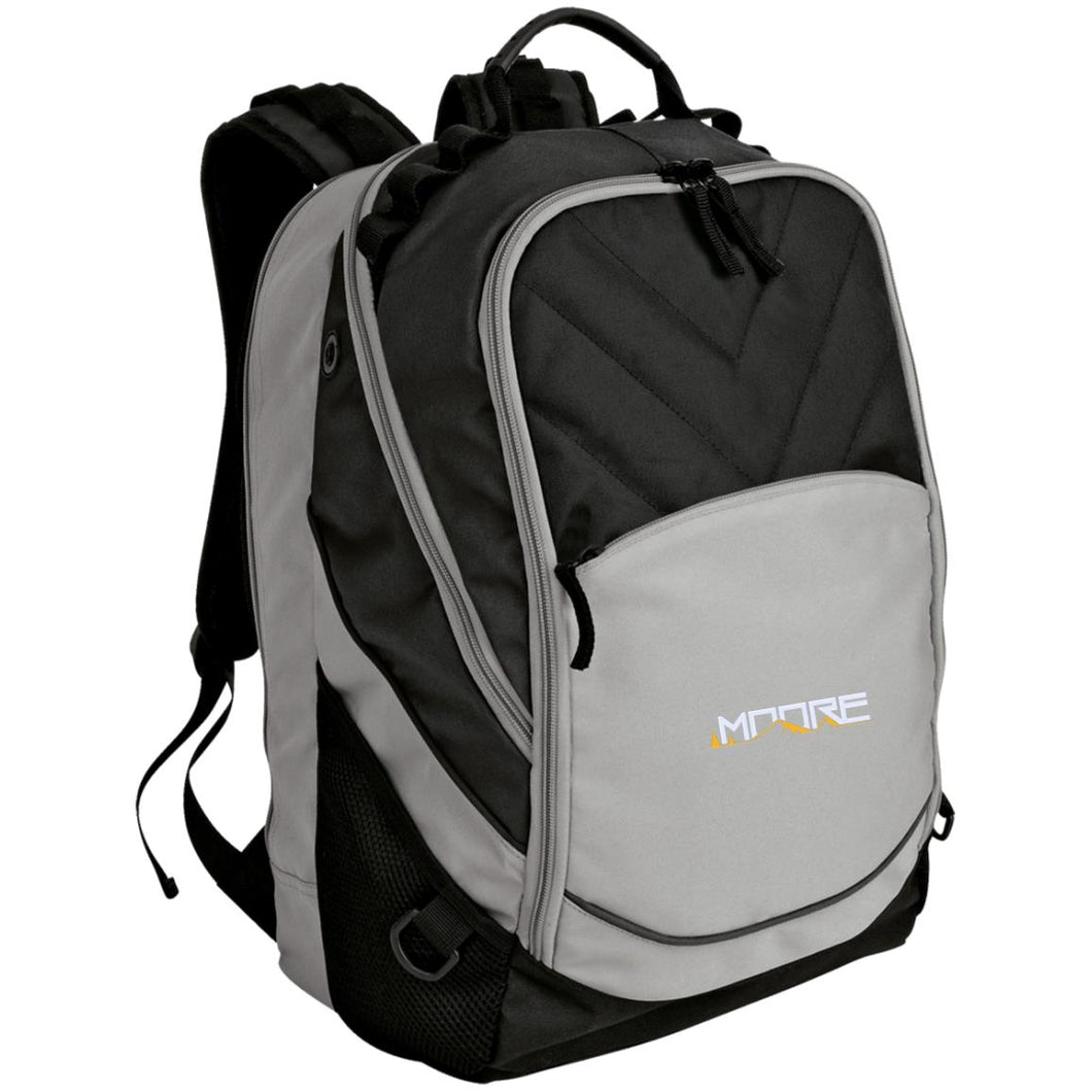 MOORE embroidered logo BG100 Port Authority Laptop Computer Backpack
