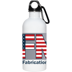 AFA 23663 20 oz. Stainless Steel Water Bottle
