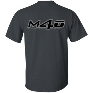 M4O 2-sided print G500 Gildan 5.3 oz. T-Shirt
