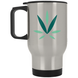 Village Vine XP8400S Silver Stainless Travel Mug