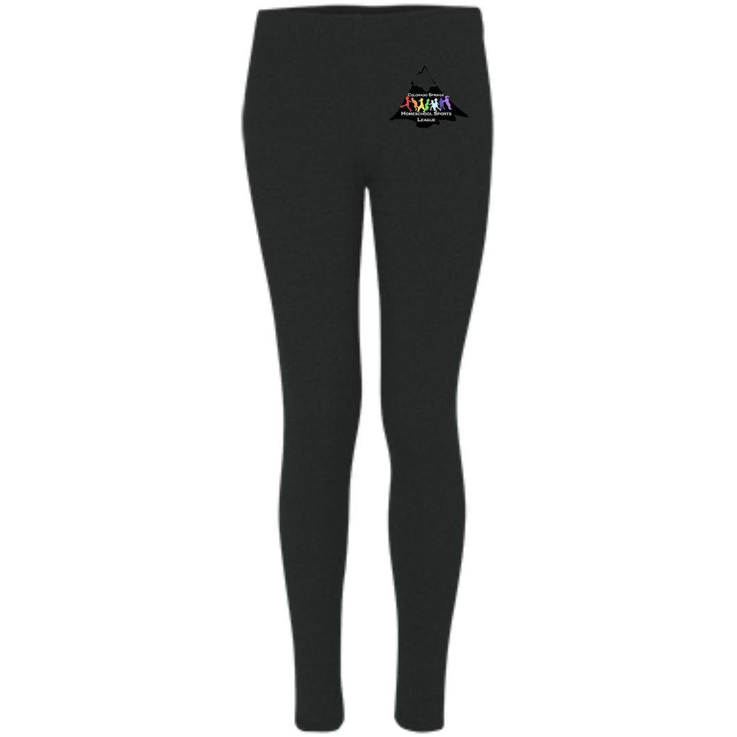 CO Springs Home School Sports League embroidered logo S08 Boxercraft Women's Leggings