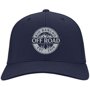 Rio Rancho Off Road embroidered logo C813 Port Authority Flex Fit Twill Baseball Cap