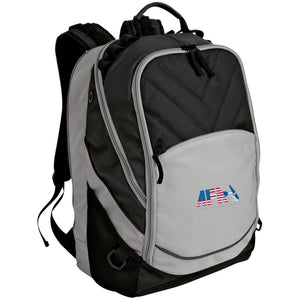 AFA embroidered logo BG100 Port Authority Laptop Computer Backpack