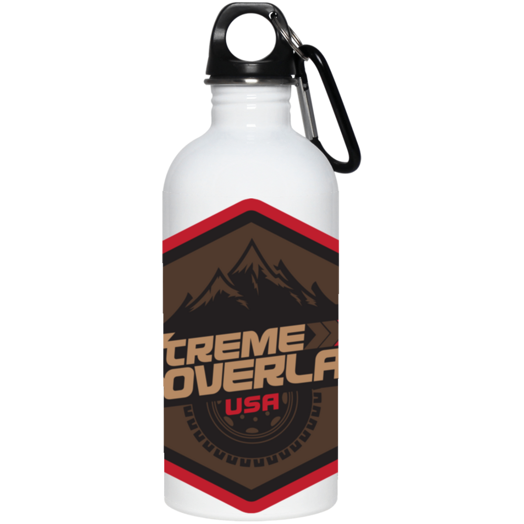 Xtreme Overland full wrap around logo 23663 20 oz. Stainless Steel Water Bottle