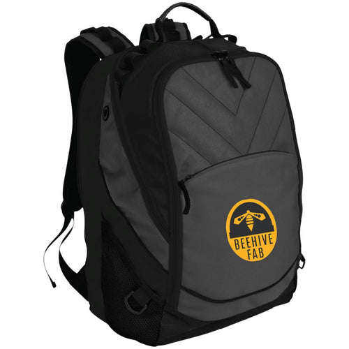 Beehive FAB embroidered logo BG100 Port Authority Laptop Computer Backpack