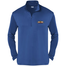 Load image into Gallery viewer, Scorpion embroidered logo ST357 Sport-Tek Competitor 1/4-Zip Pullover
