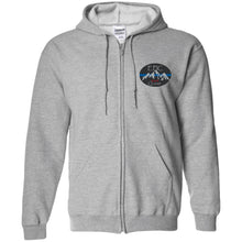 Load image into Gallery viewer, EPIC 4x4 Quest embroidered logo G186 Gildan Zip Up Hooded Sweatshirt