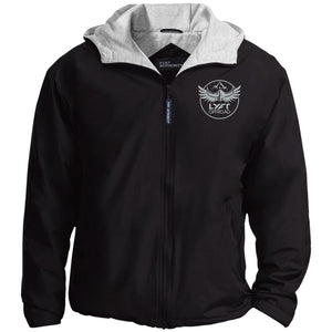 Lyft Off Road silver embroidered JP56 Port Authority Team Jacket