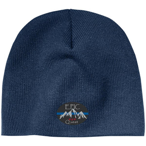 EPIC 4x4 Quest embroidered logo CP91 100% Acrylic Beanie