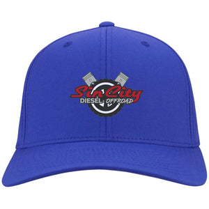Sin City embroidered C813 Port Authority Fullback Flex Fit Twill Baseball Cap