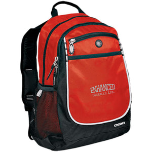 Enhanced Installs silver embroidered 711140 OGIO Rugged Bookbag