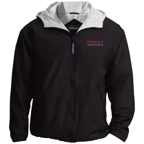Dark Side Racing red. black & silver embroidered JP56 Port Authority Team Jacket