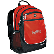 Load image into Gallery viewer, SASKINGZ silver embroidered logo 711140 OGIO Rugged Bookbag