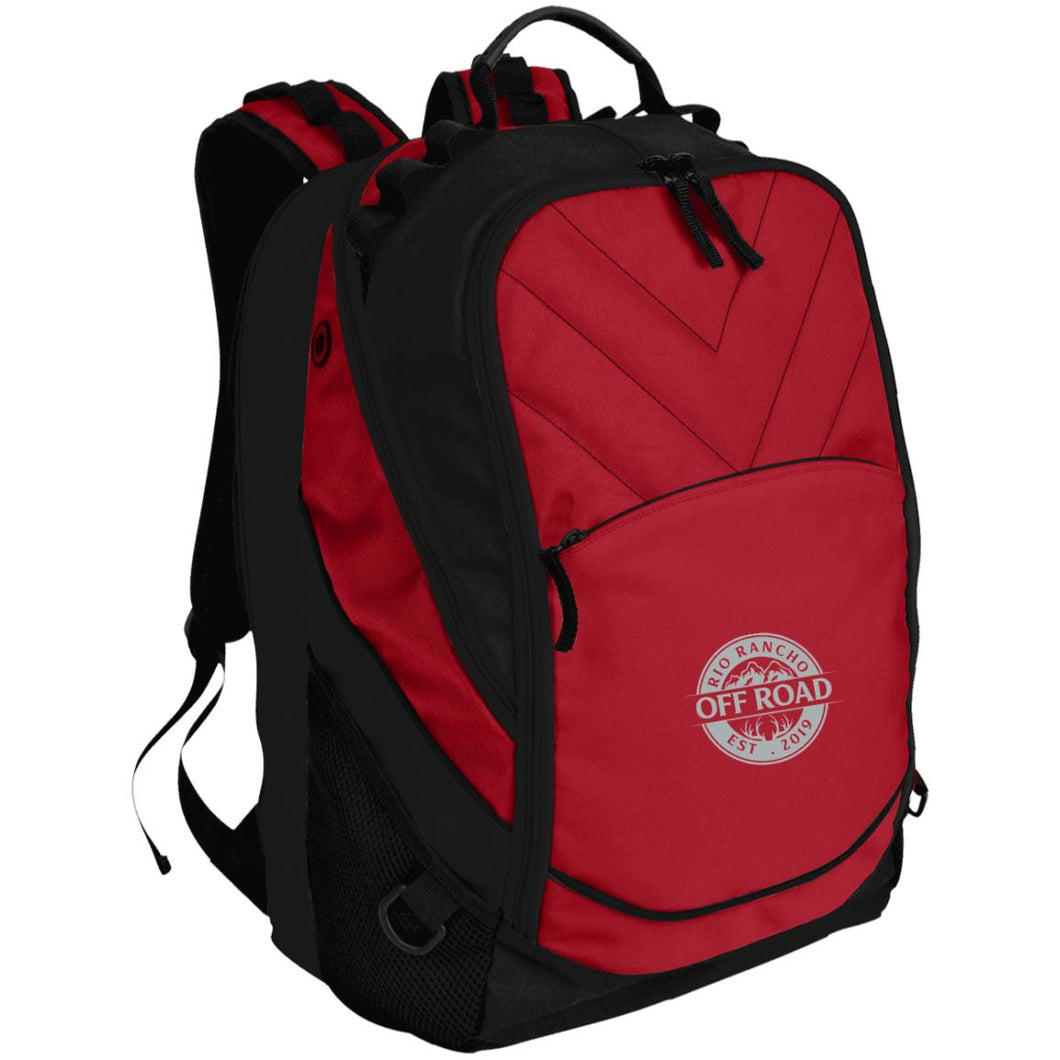 Rio Rancho Off Road embroidered logo BG100 Port Authority Laptop Computer Backpack