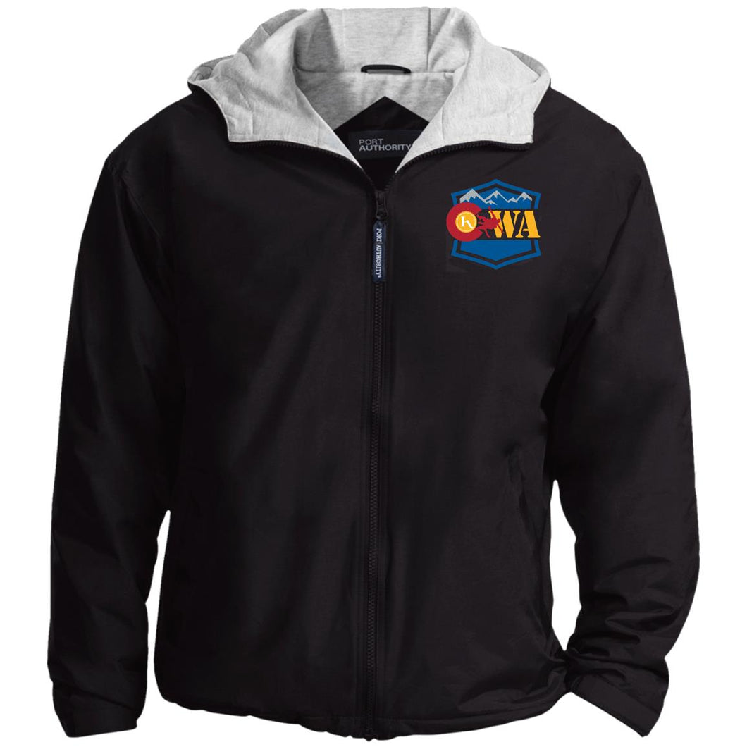 CWA embroidered logo JP56 Port Authority Team Jacket
